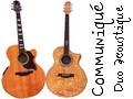 Communiqué !! Duo acoustic 13
